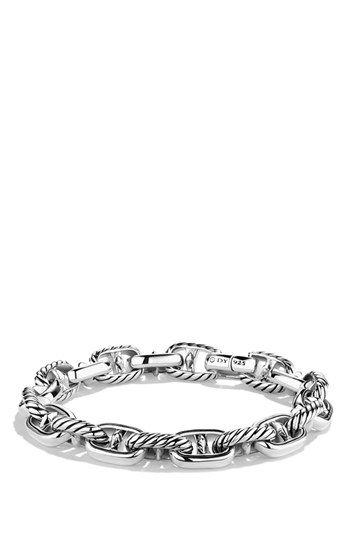 Men S David Yurman Maritime Anchor Link Bracelet Silver