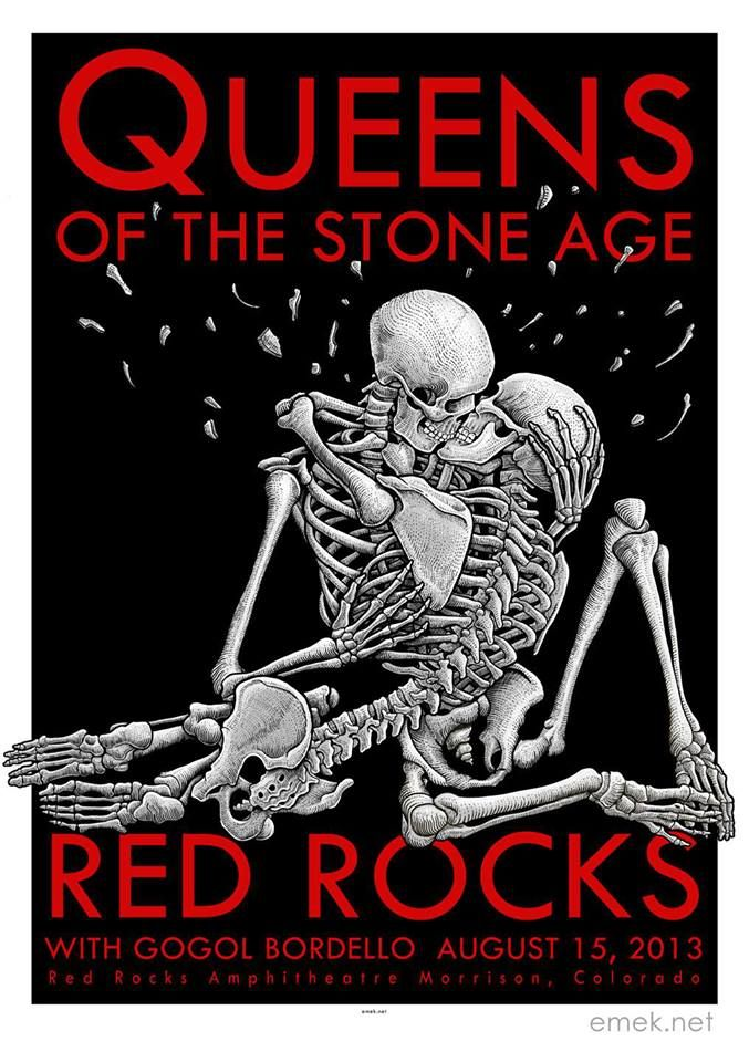 emek Queens Of The Stone Age - Morrison, CO 2013