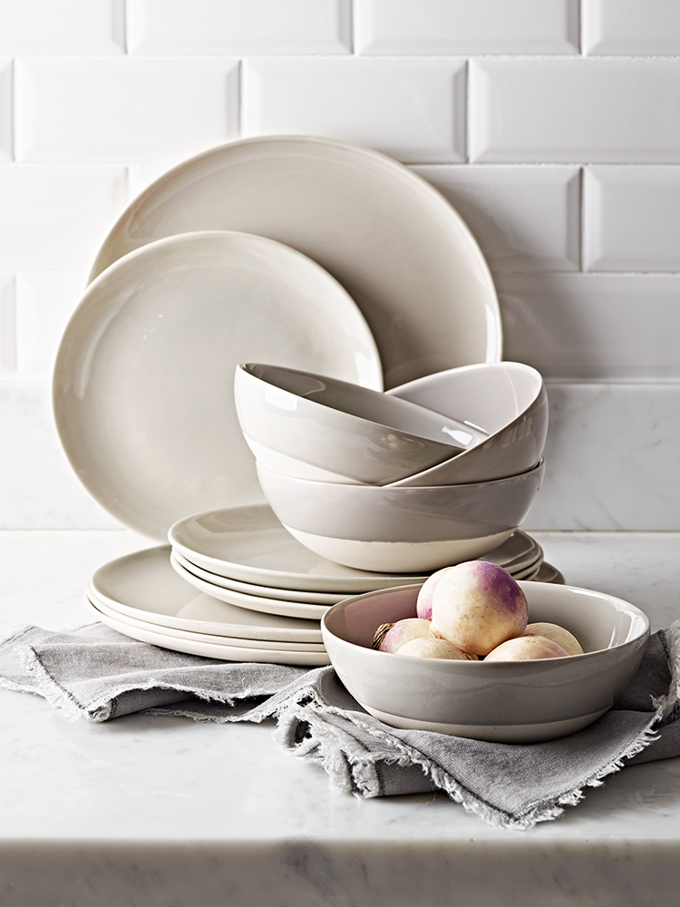 Dip Glaze Dinnerware Collection - Grey The perfect dinnerware for everyday and occasional dining our new dip glaze collection has been beautifully crafted ... & The perfect dinnerware for everyday and occasional dining our new ...