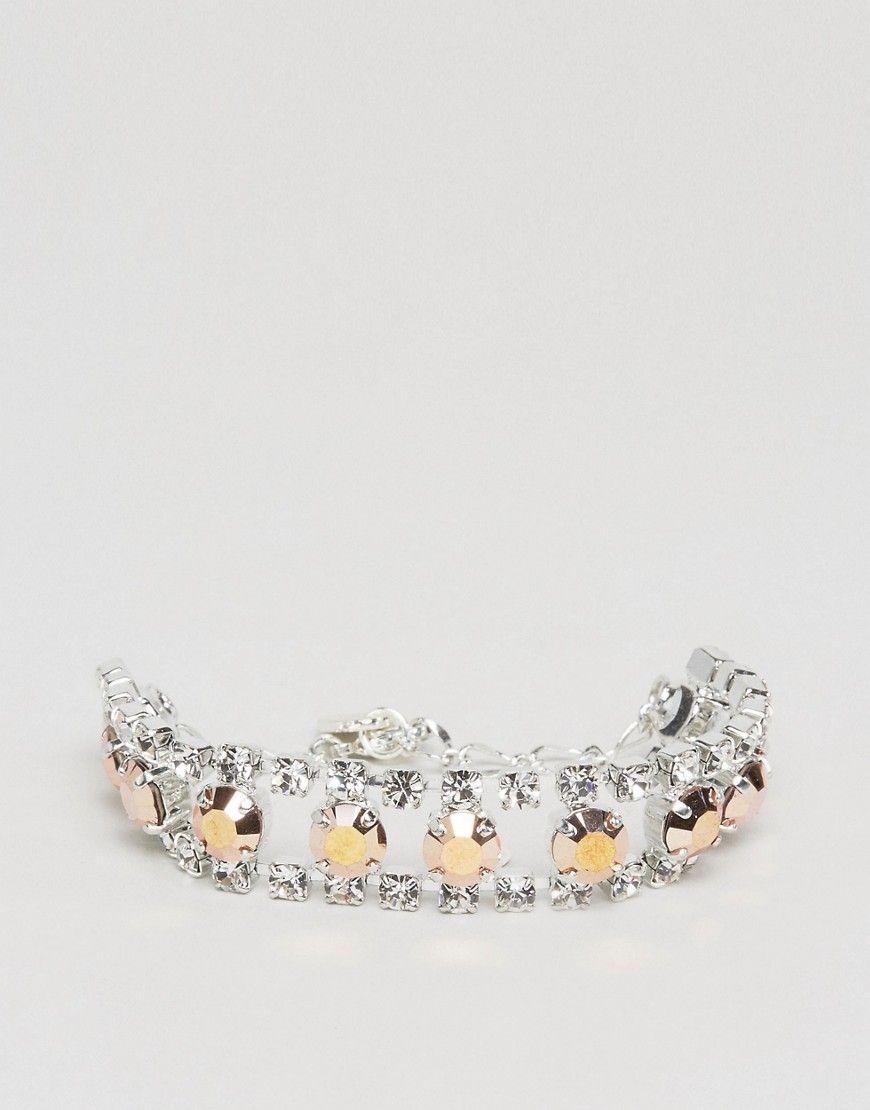 Get this Krystal's bracelet now! Click for more details. Worldwide shipping. Krystal London Swarovski Crystal Ladder Bracelet - Silver: Bracelet by Krystal, Silver-tone finish, Ladder style, Swarovski embellishment, Adjustable chain length, Lobster clasp fastening, 70% Swarovski Crystals, 30% Metal. (brazalete, brazal, brazalete, brazales, bracelet, cuff, bangle, arm harness, armreifen, brazalete, bracelet, braccialetto, brazaletes)