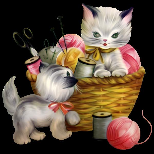 Cute Kittens Cartoon Clip Art Images.All Cat Cartoon ...
