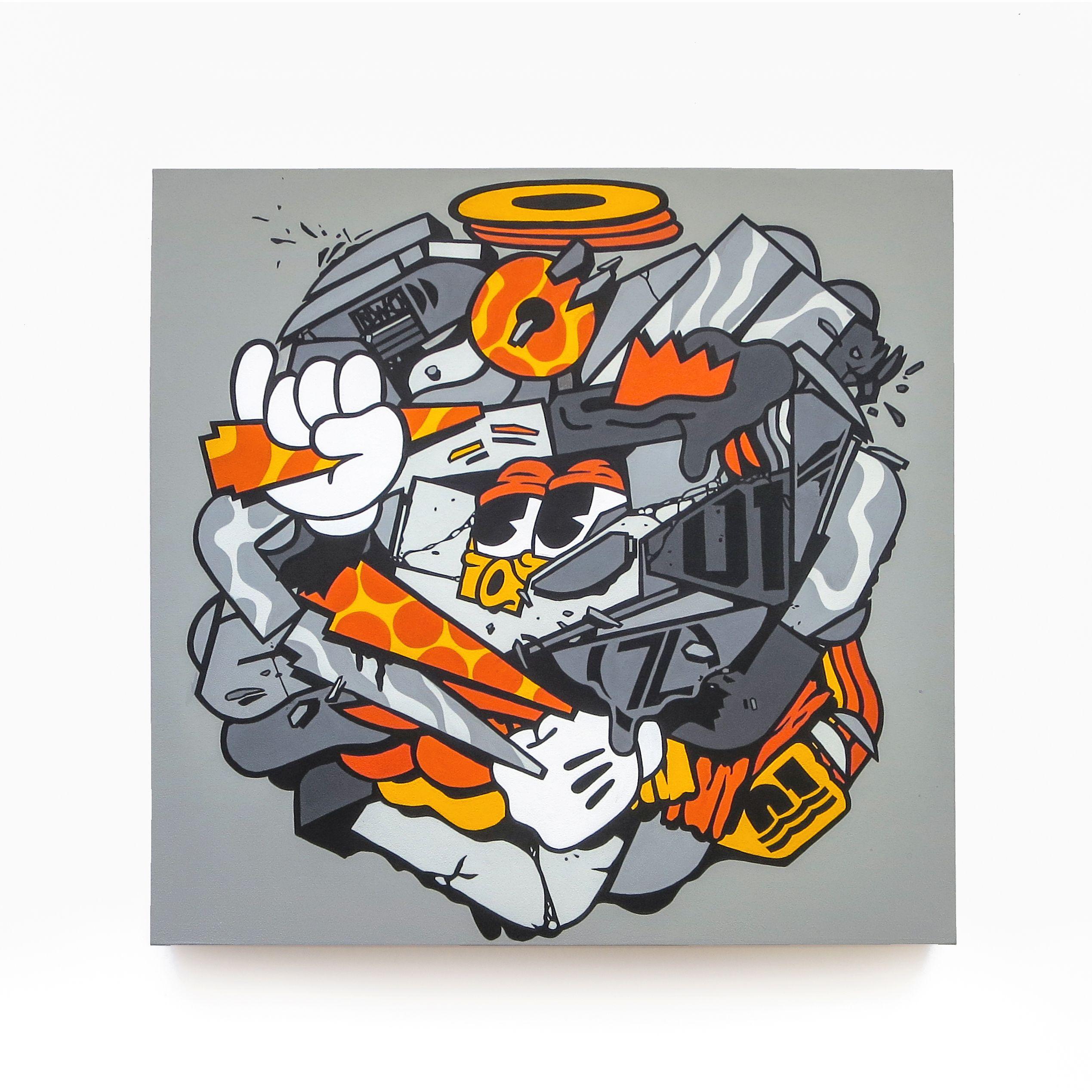 Graffiti - 123Klan - Bandit1$M - Streetwear
