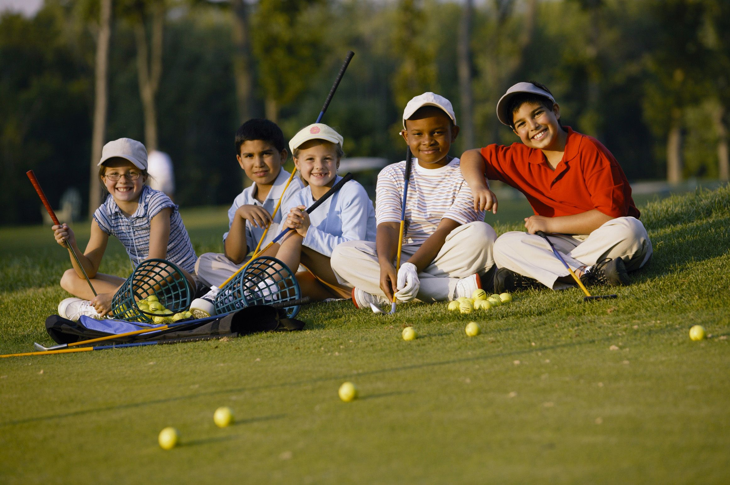 One Week Of Junior Golf Camp Buddies For A Lifetime Golf Kids Golf Used Golf Clubs