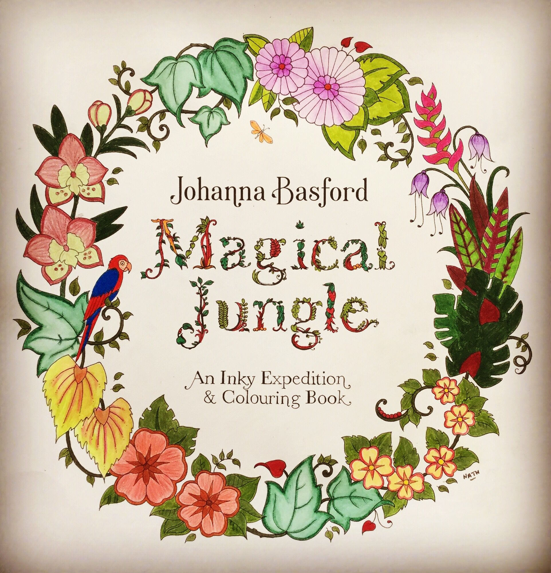 my coloring johanna basford magical jungle magicaljungle