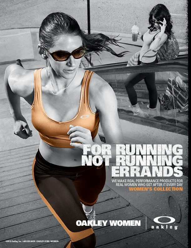 d2f8fc54d7 Oakley s ad to position itself as a brand for serious athletes
