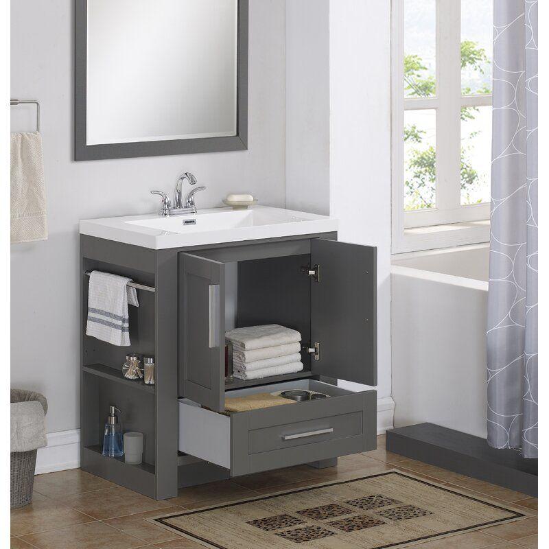 Durand 30 Single Bathroom Vanity Set Single Bathroom Vanity Small Space Bathroom Vanity Bathroom Vanity