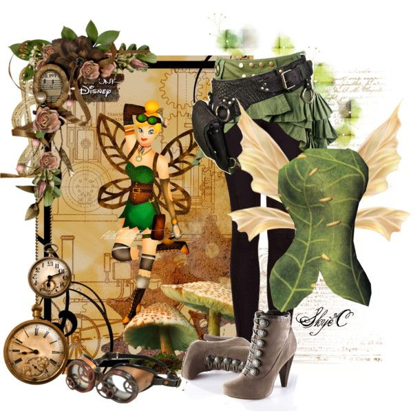 """""""Tinkerbell - Steampunk - Disney's Peter Pan"""" by rubytyra on Polyvore"""