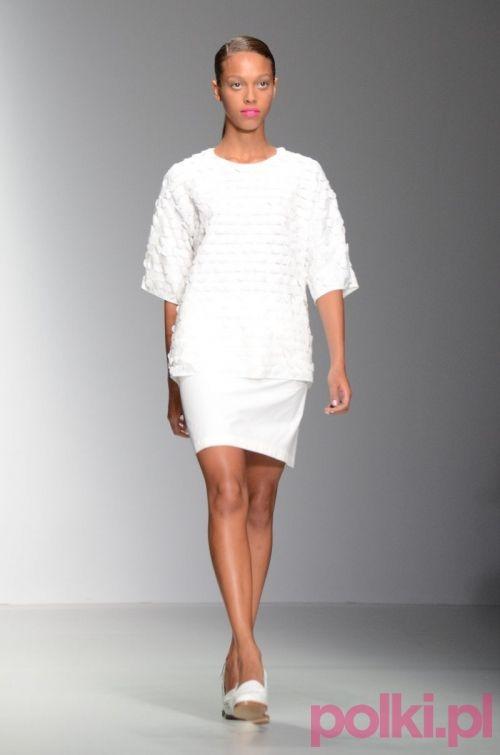 białe sukienki, J Js Lee wiosna-lato 2014