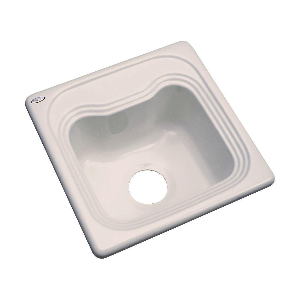 thermocast oxford drop in acrylic 16 in single bowl bar sink in rh pinterest com