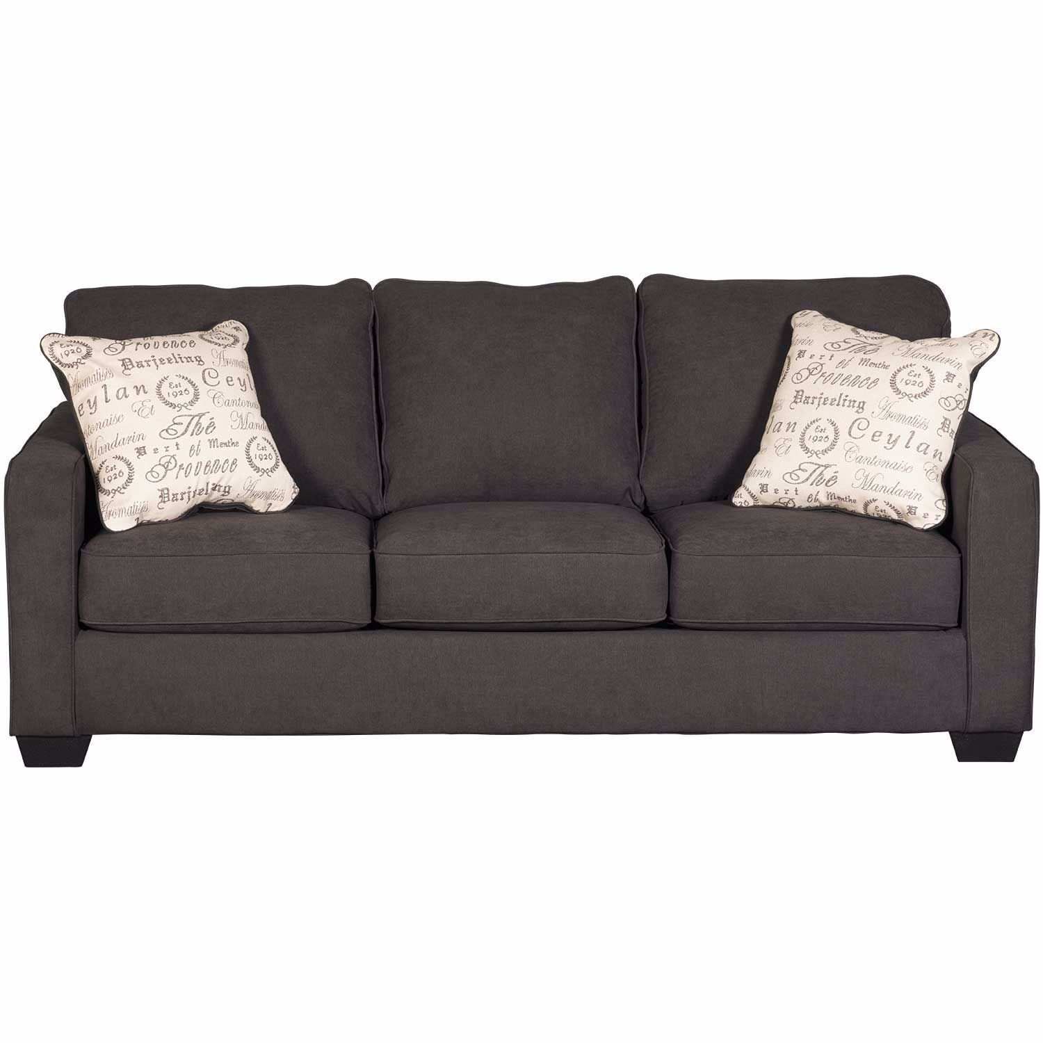 Aleyna Charcoal Sofa Charcoal Sofa Sofa Ashley Furniture Sofas
