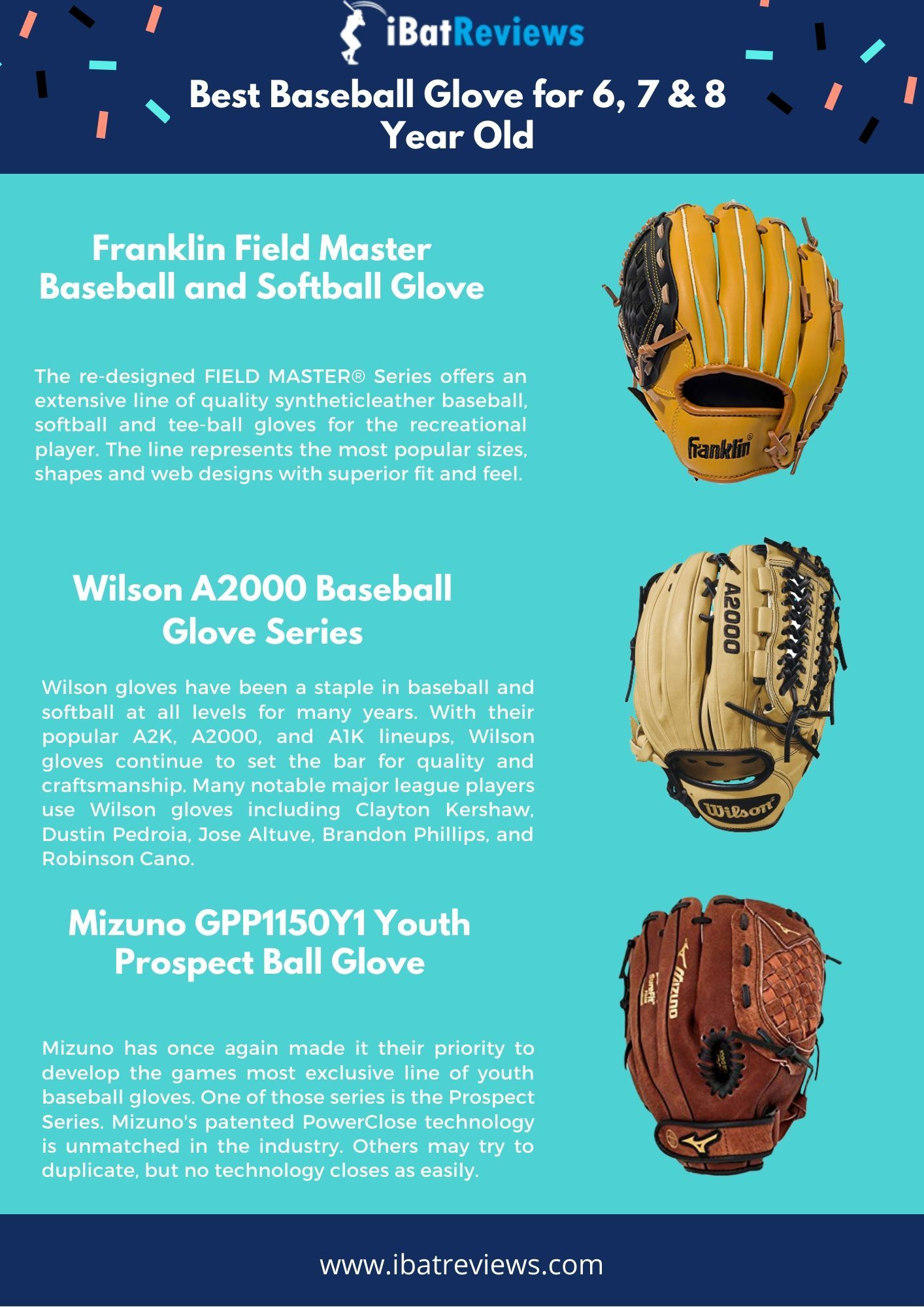 Baseball Glove For 6 7 8 Year Old Baseball Glove Better Baseball Softball Gloves
