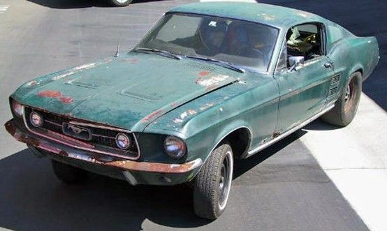 1968 Ford Mustang Gt 390 Think Frank Bullet Ford Mustang Shelby