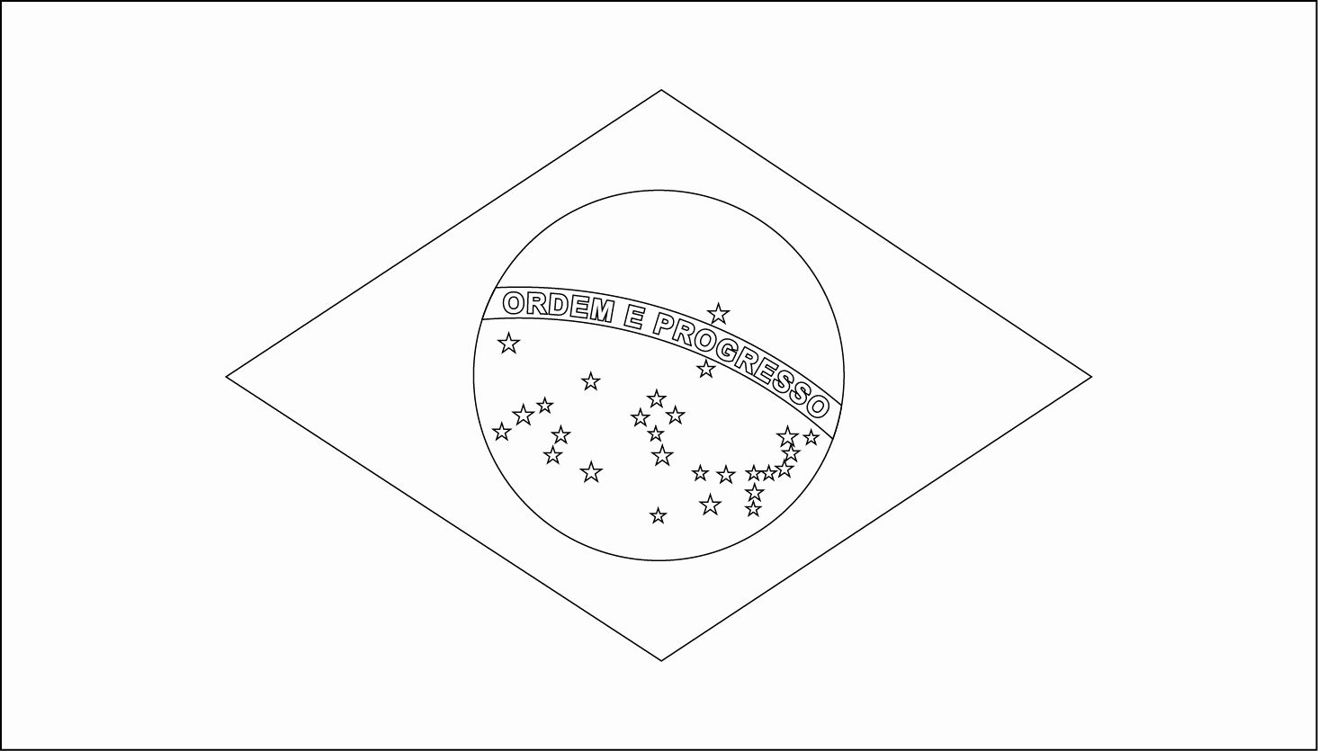 Flag Of Brazil Coloring Page Luxury Printable Brazil Flag Coloring Worksheet Flag Coloring Pages Coloring Pages Coloring Pages Inspirational