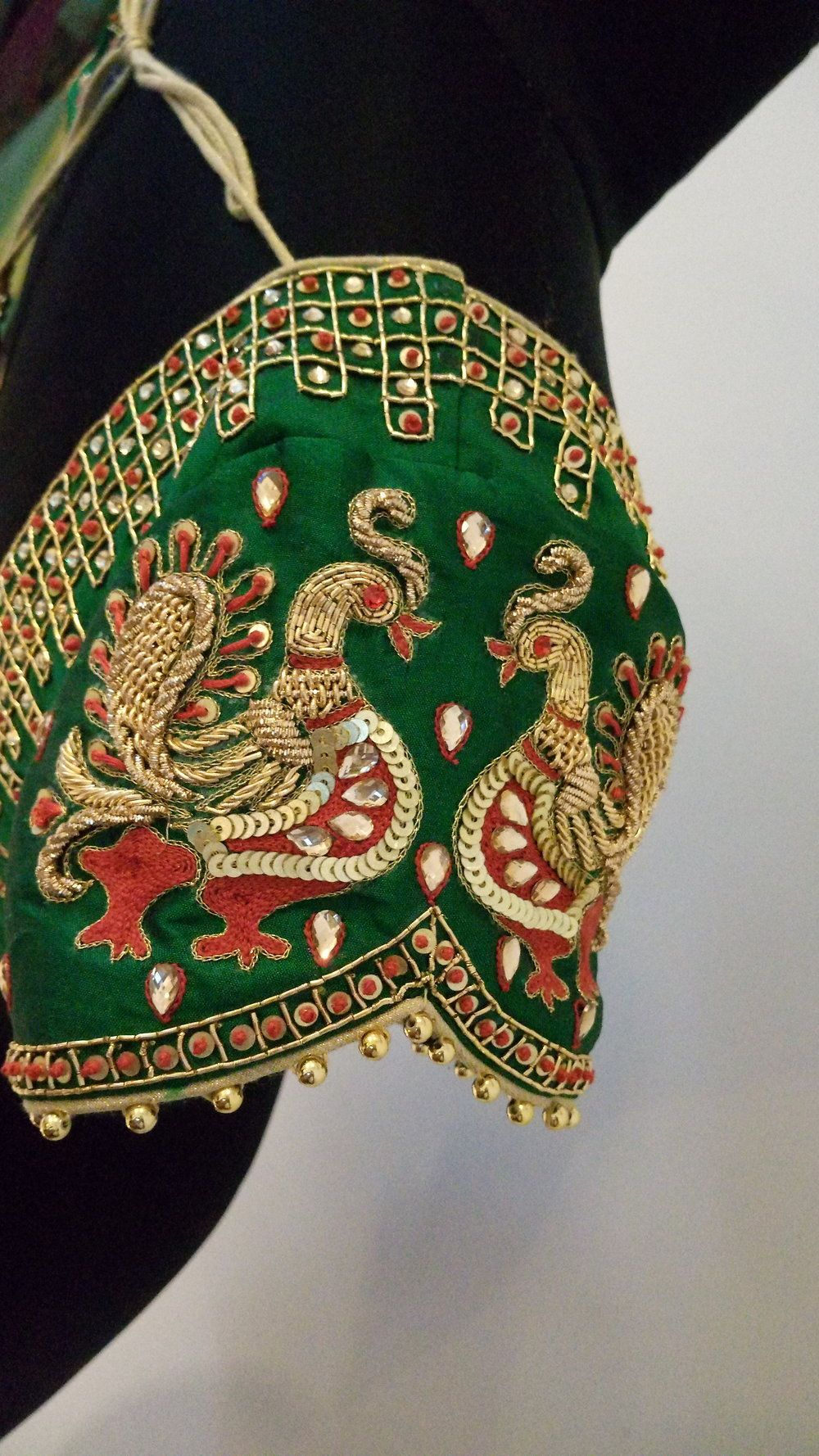 9fd814900bc8b6 Party wear Wedding Saree Blouse Designs, Silk Saree Blouse Designs, Maggam  Work Designs,