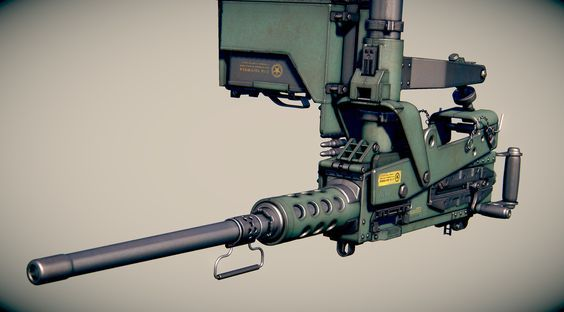 ArtStation - Weapon Browning W.I.P., OccultArt _: