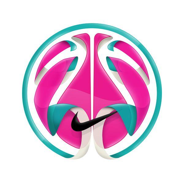 Nike Basketball by Vasava http://www.inspirefirst.com/2012/05/17/nike- basketball-vasava/ | Sports | Pinterest | Nike basketball, Behance and Logos