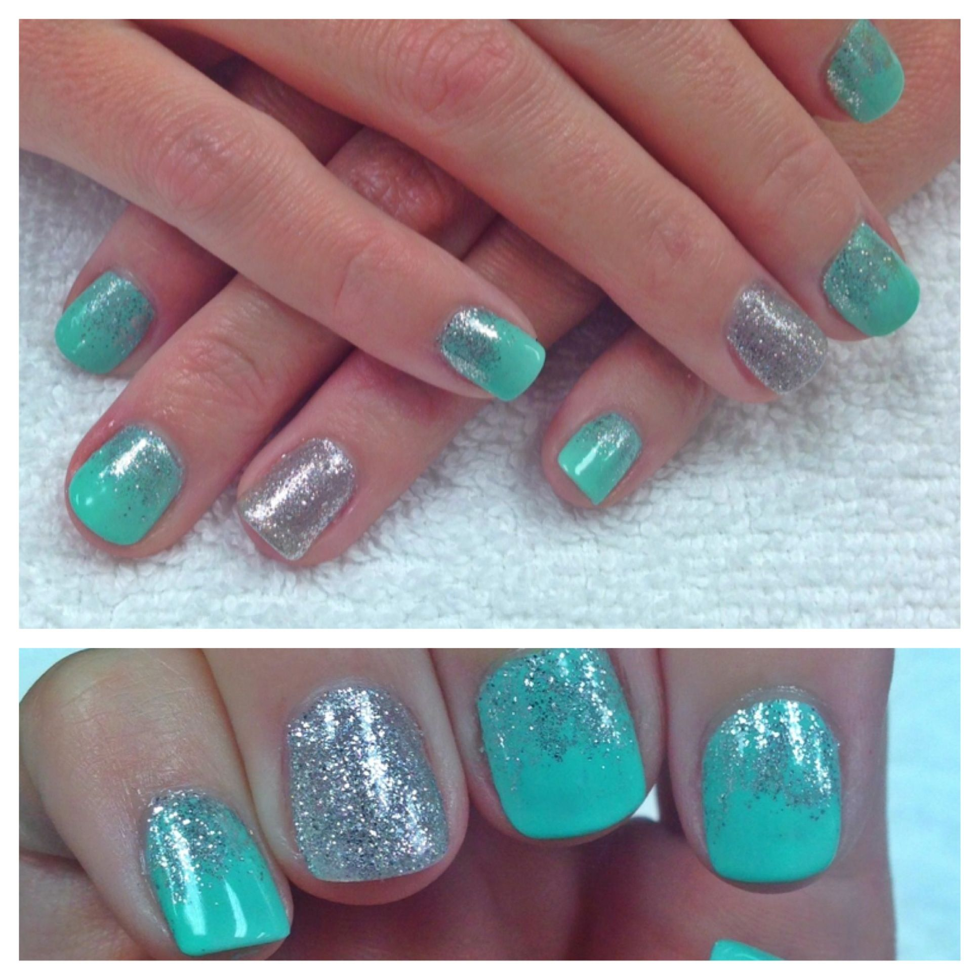 Glitter fade nail art | Nails | Pinterest | Glitter fade nails ...