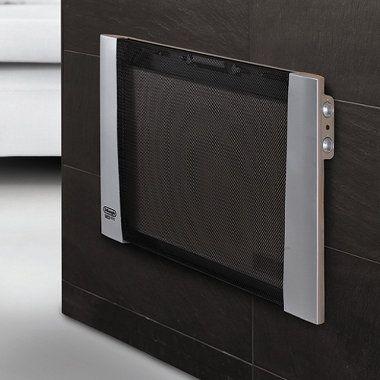 The Silent Space Heater Hammacher Schlemmer Space Heater Electric Space Heaters Home Appliances