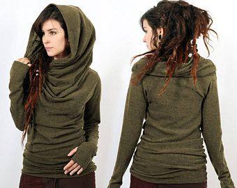 Alternative Kleidung mitte saison pullover top fee boho bohemian hippie