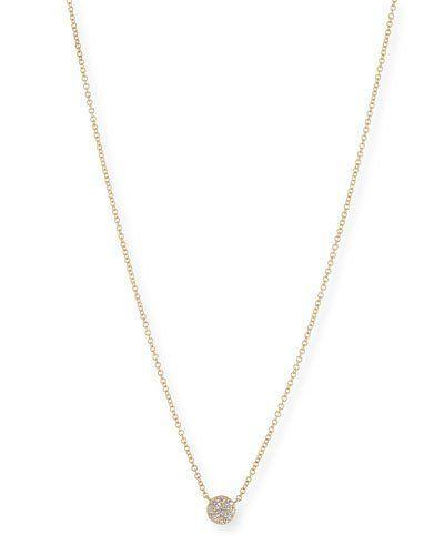 Oliver Bonas Women Alphabet Disc Silver Pendant Necklace