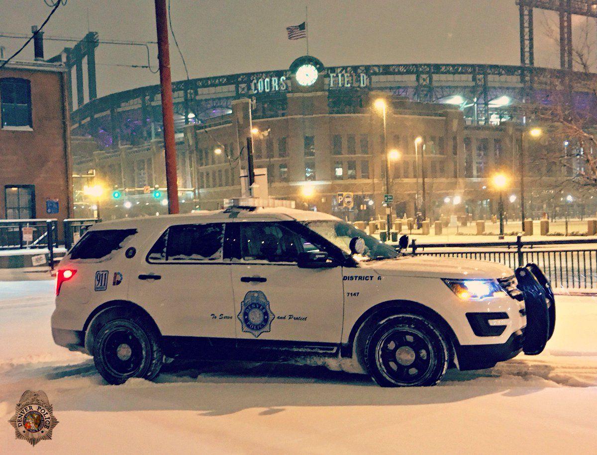 Co Denver Police Dept Police Cars Emergency Vehicles Denver Police Department