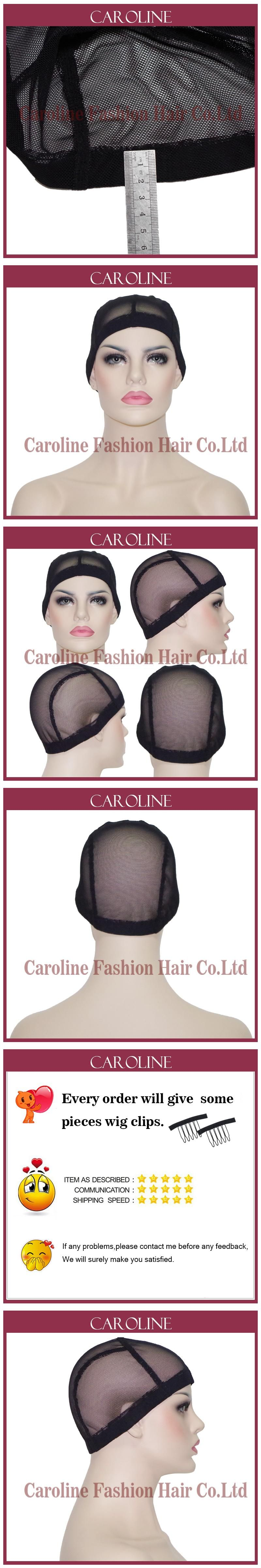 Glueless Lace Wig Cap For Making Wigs With Adjustable Straps Weaving