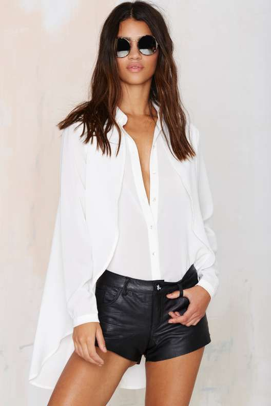 Fly By Cape Blouse