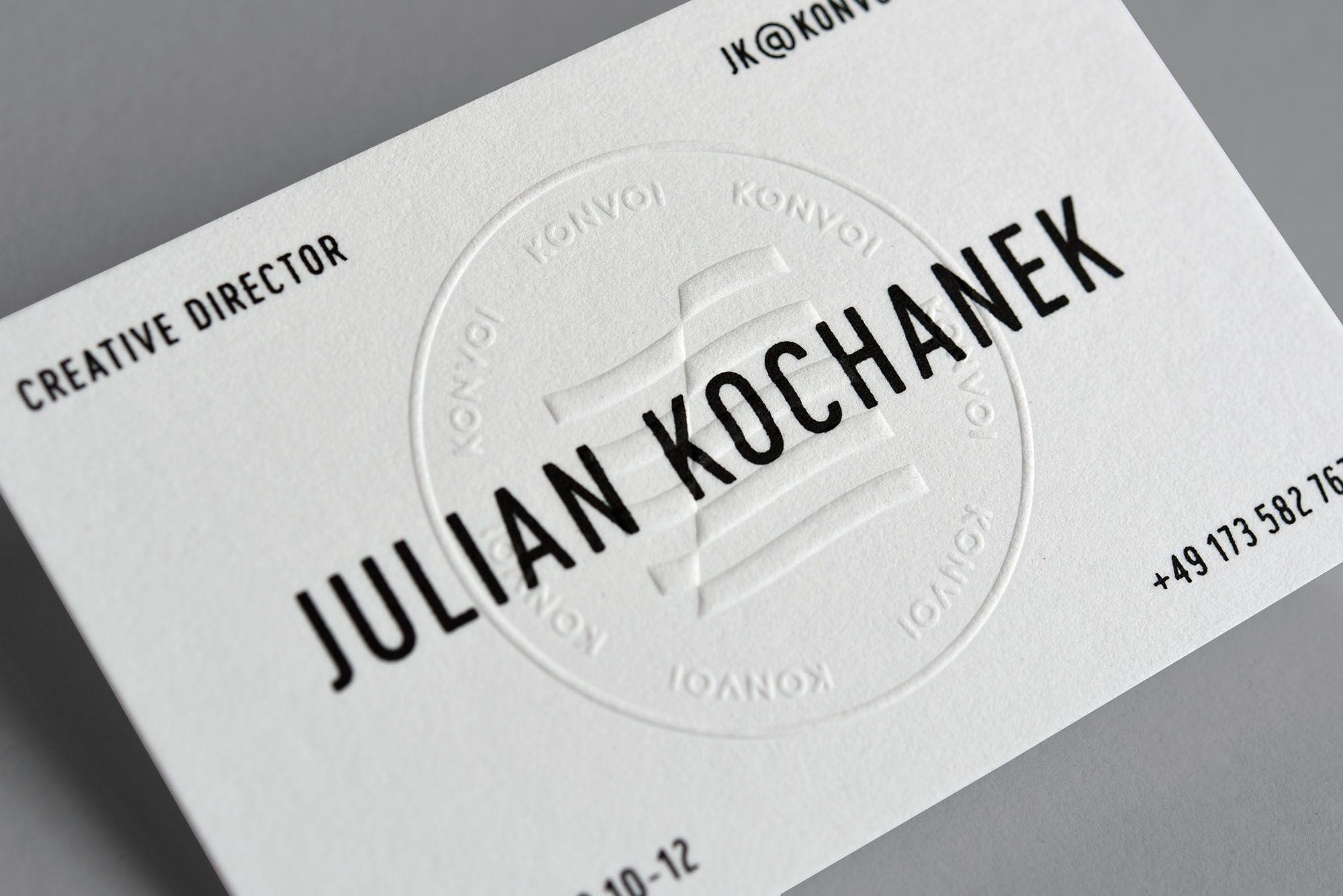Drucktechnik Letterpress Hochprägung Siebdruck Papier