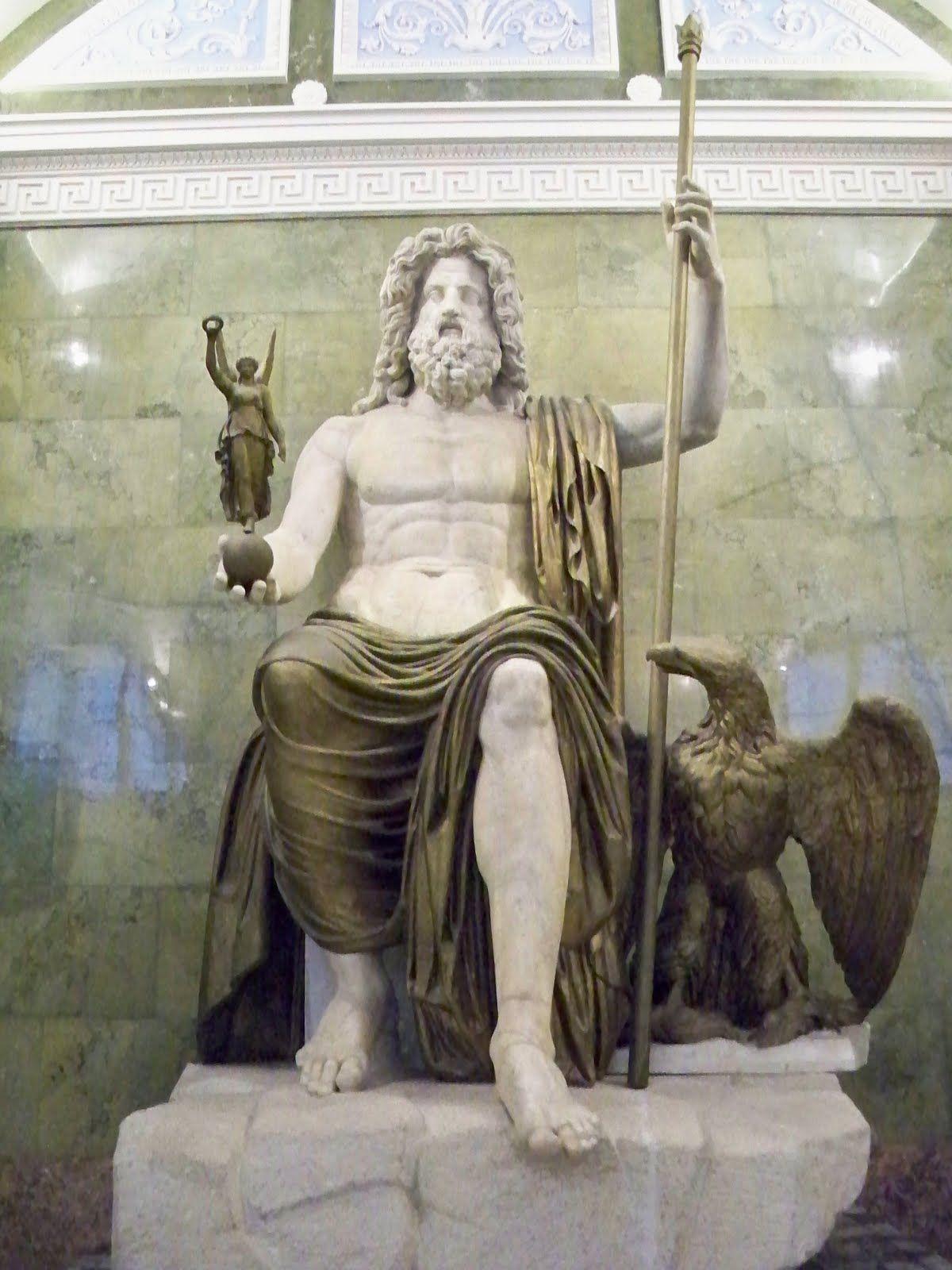Ancient Roman statue of Jupiter, Late 1st century AD ...
