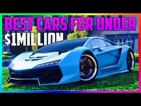 nice GTA ONLINE - BEST CARS TO BUY FOR UNDER $1,000,000! - BEST CARS