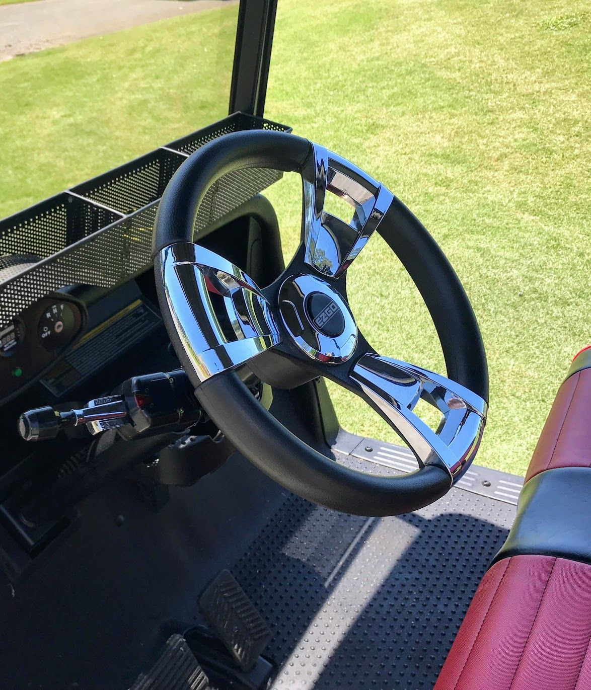 small resolution of upgrade your golf cart steering wheel for a more comfortable feel and custom look