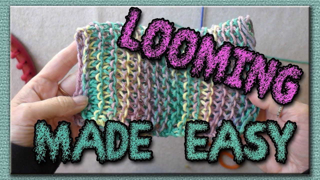 Knitting Casting Off Purl Stitch : Learn the Basic Stitches for Loom Knitting - Purl and Knit stitches. And stra...