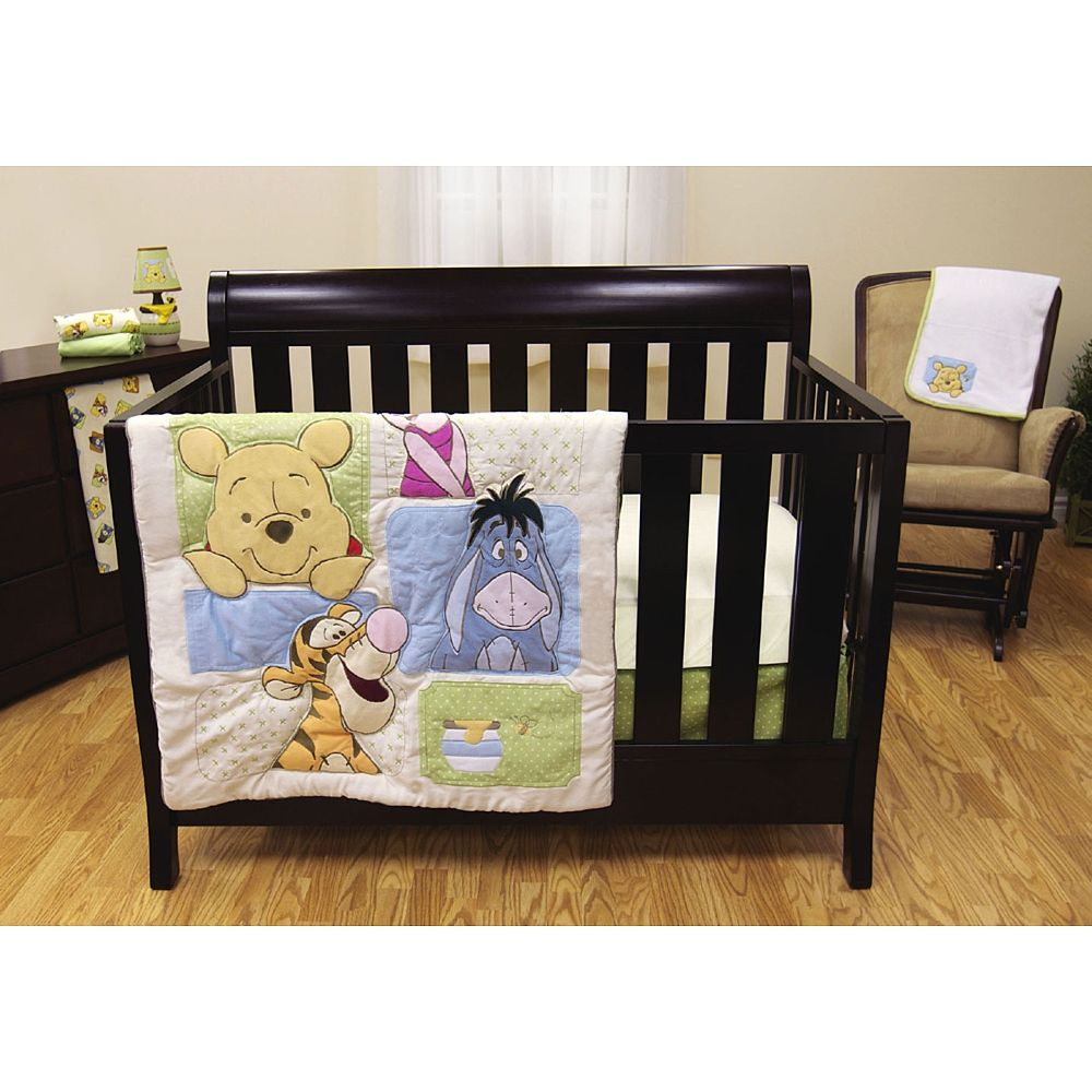 Adorable #disneypooh crib bedding at Toys R Us! (With ...