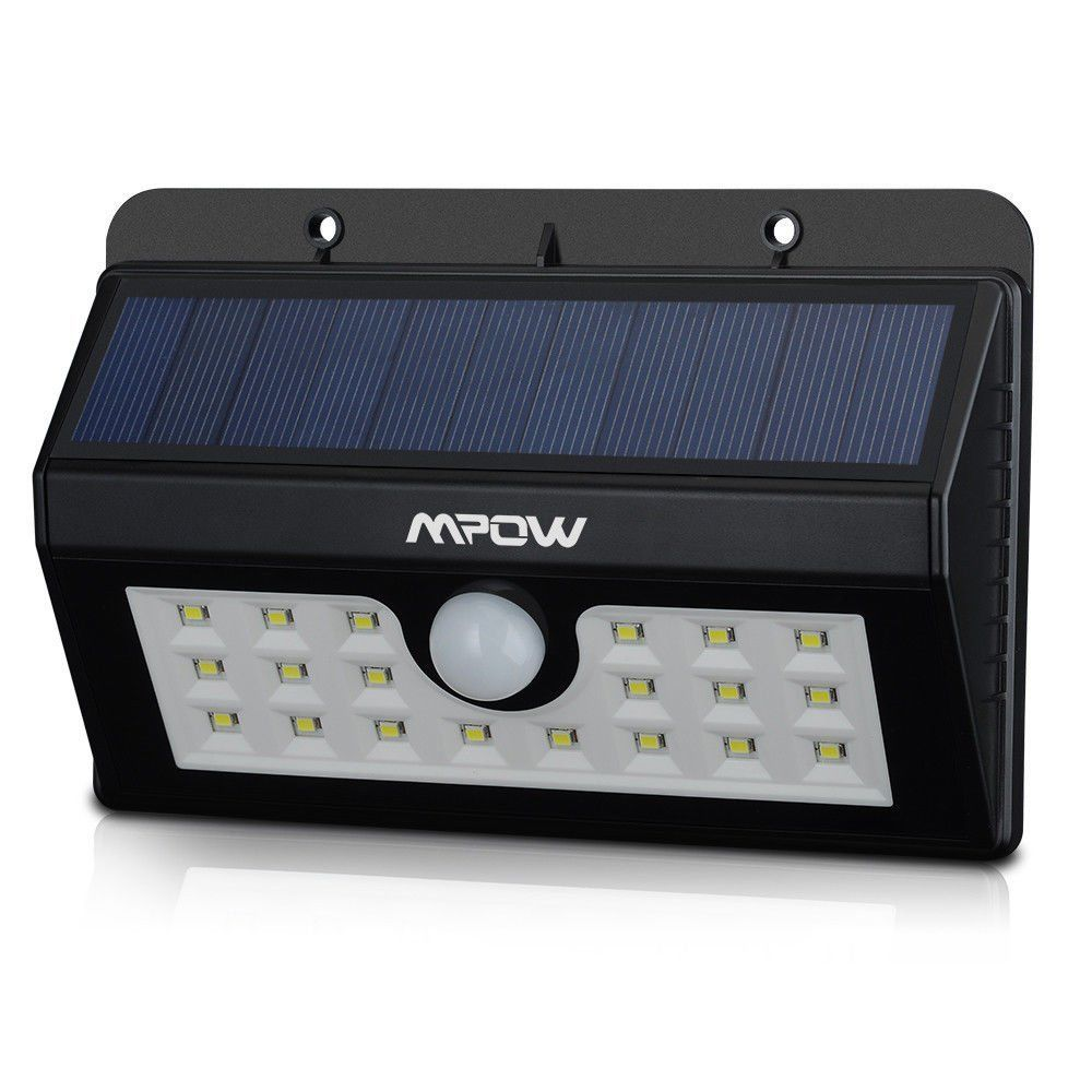 Mpow 20led solar powered wireless pir motion sensor wall security mpow 20led solar powered wireless pir motion sensor wall security light outdoor aloadofball Image collections