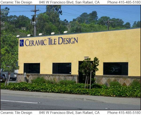 Ceramic Tile Design 846 Francisco Boulevard West San Rafael Ca