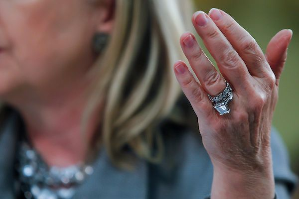 Superieur Hillary Clinton Ring
