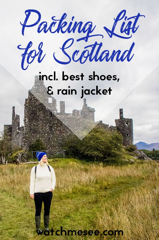 Scotland Packing List + Packing Tips for Every Season | Watch Me See #ultimatepackinglist