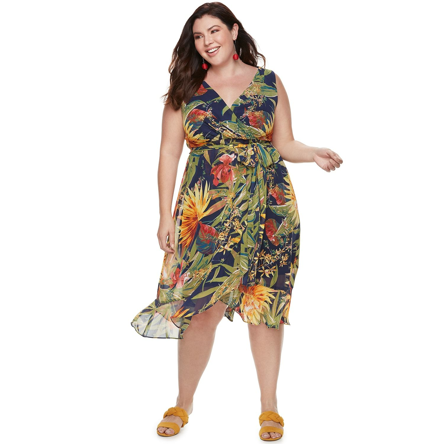 1270433822a7 Plus Size Chaya Floral Maxi Dress