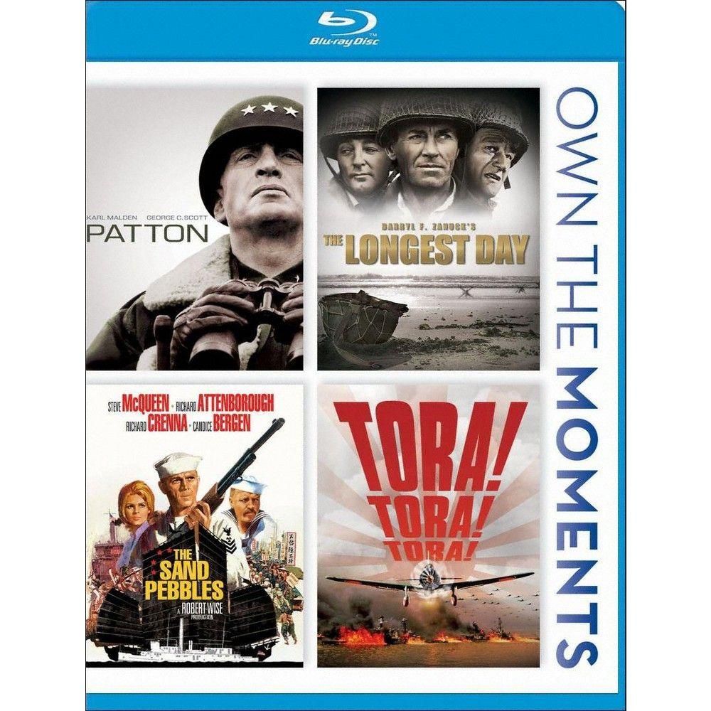 Patton/The Longest Day/The Sand Pebbles/Tora! Tora! Tora