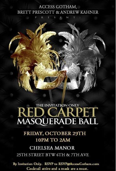 Masquerade Ball Birthday Party Invitation, Ticket Style, Prom ...