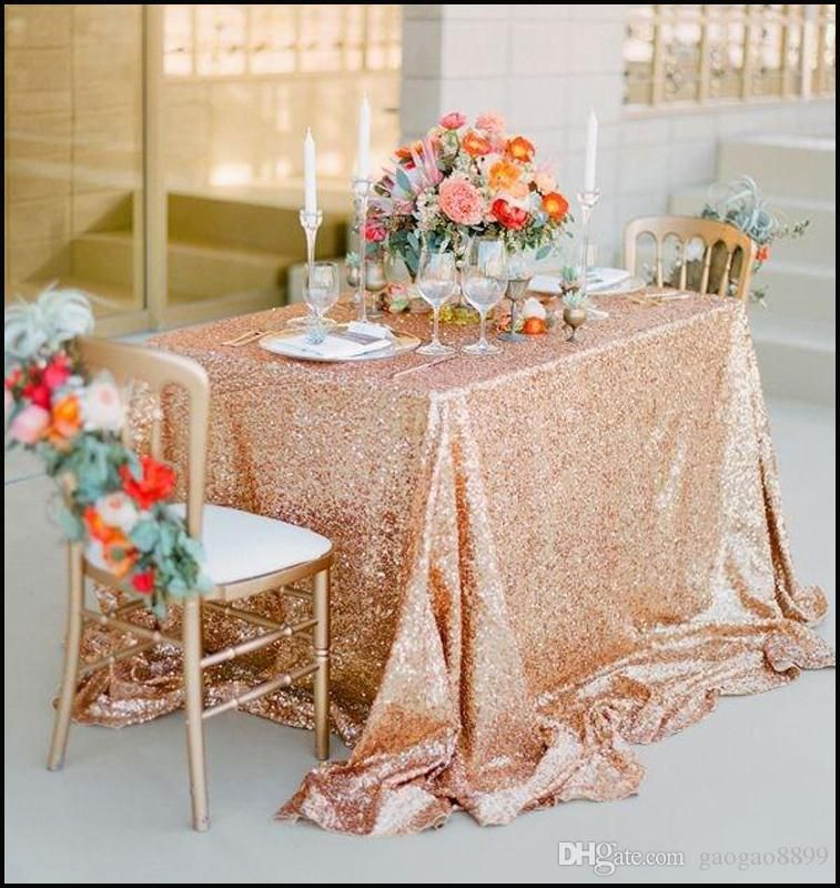 Indian Wedding Decoration Ideas Champagne Rose Gold Sequined Tablecloth Wedding Party D Rose Gold Sequin Tablecloth Gold Sequin Tablecloth Sparkly Table Cloth
