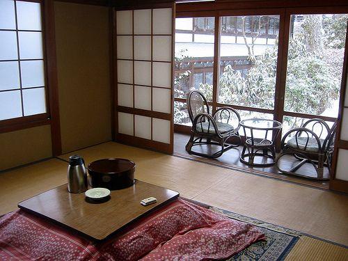 How To Build A Japanese Style Heated Floor Desk Offbeat Home Life Floor Desk Japanese Interior Heated Floors