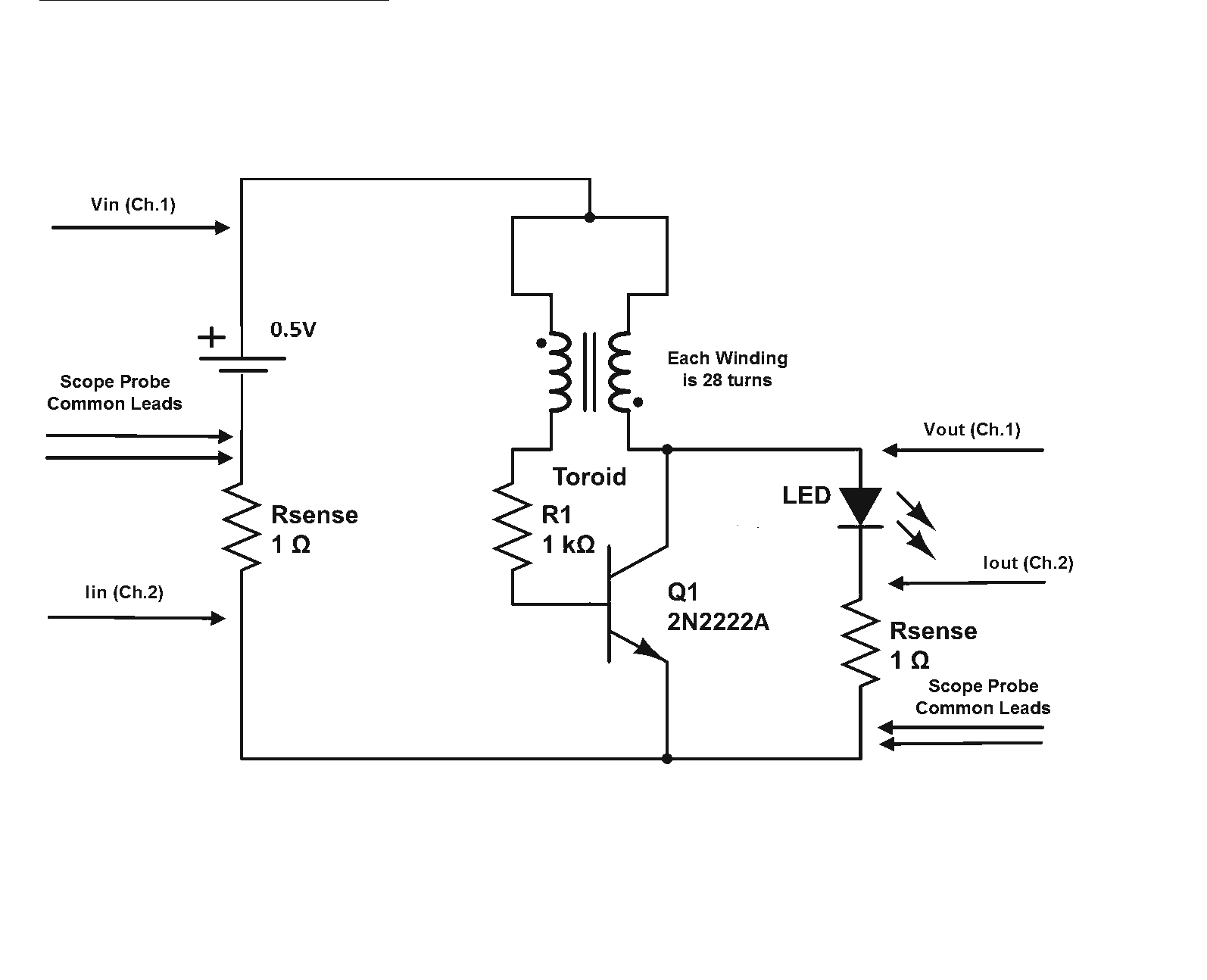 hight resolution of joule thief circuit gets overunity