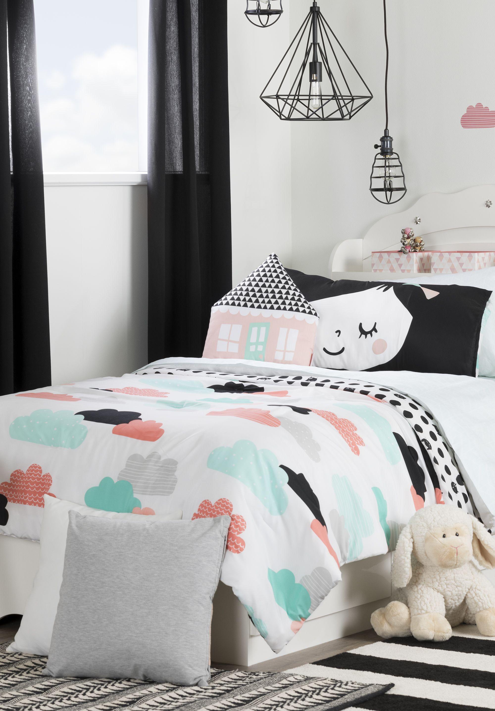 Dreamit Night Garden Comforter Set Throw Pillows Chambre