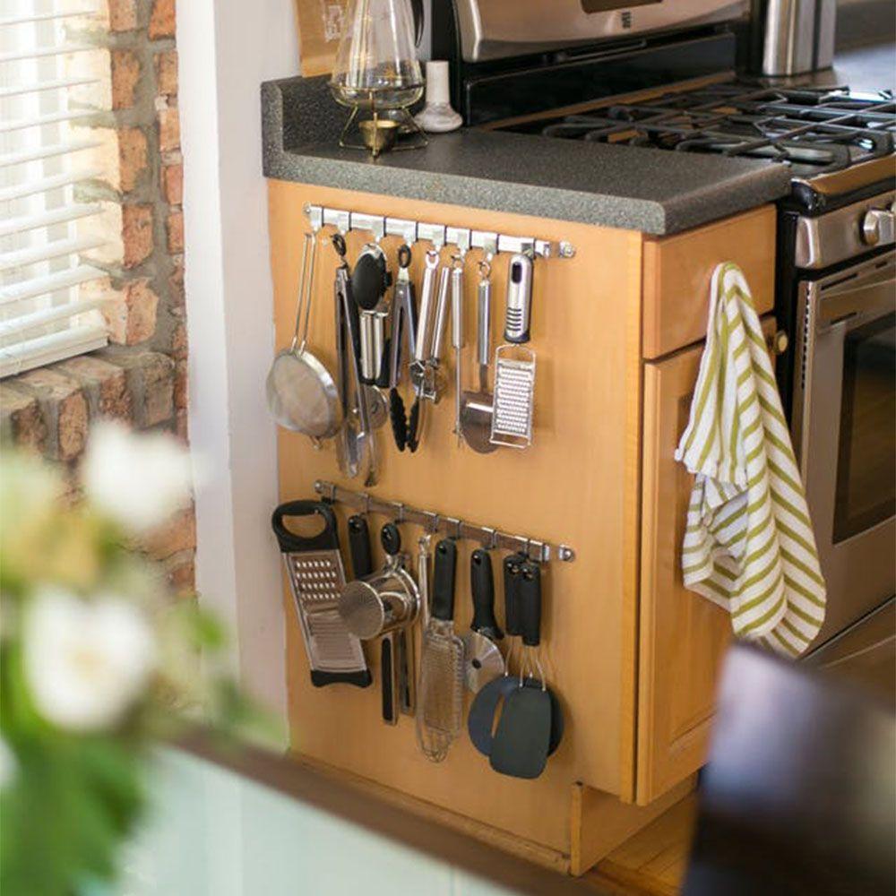 10 Awesome Kitchen Organization Hacks Homelysmart Kitchen Hacks Organization Utensil Storage Kitchen Storage