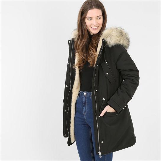vente la moins chère qualité de la marque styles divers Parka fourrée - Collection Parka - Pimkie France | Pimkie en ...