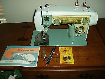 new home model 702 sewing machine with manual and more vintage rh pinterest com Old Sewing Machines New Home New Home Sewing Machine Troubleshooting
