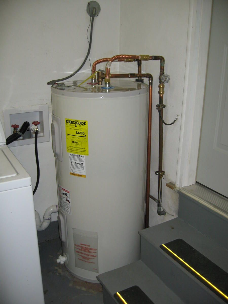 Replacing Hot Water Tank Shell Busey Home Improvements Water Heater Installation Hot Water Heater Repair Water Heater Repair