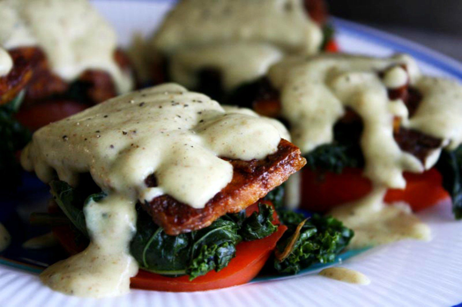 Tofu can be a little boring at times, but it is actually a pretty smart (and tasty!) vehicle for your meals when you know what to do with it. Made from whole soybeans, it's also healthier than many veggie burgers and soy protein powders. Here's some creative ways to up the flavor a bit more in your dishes!