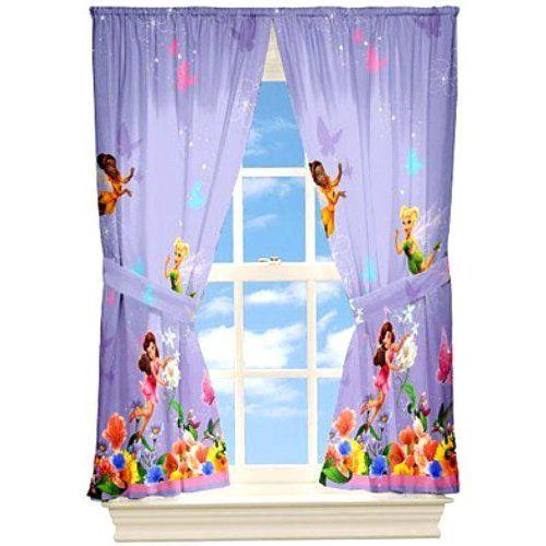 Tinkerbell Disney Fairies Gardine 208 x 160cm Kinderzimmer
